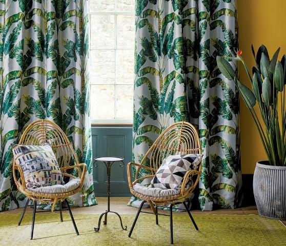 vorh nge und gardinen prager interiors. Black Bedroom Furniture Sets. Home Design Ideas